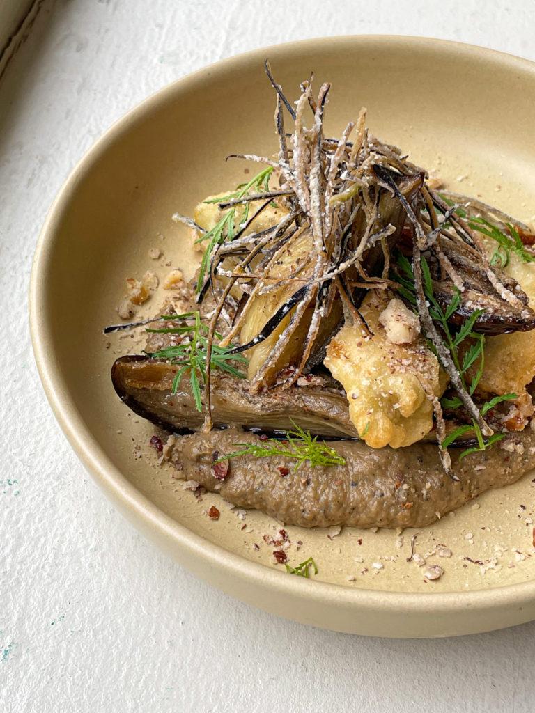 Eggplant miso